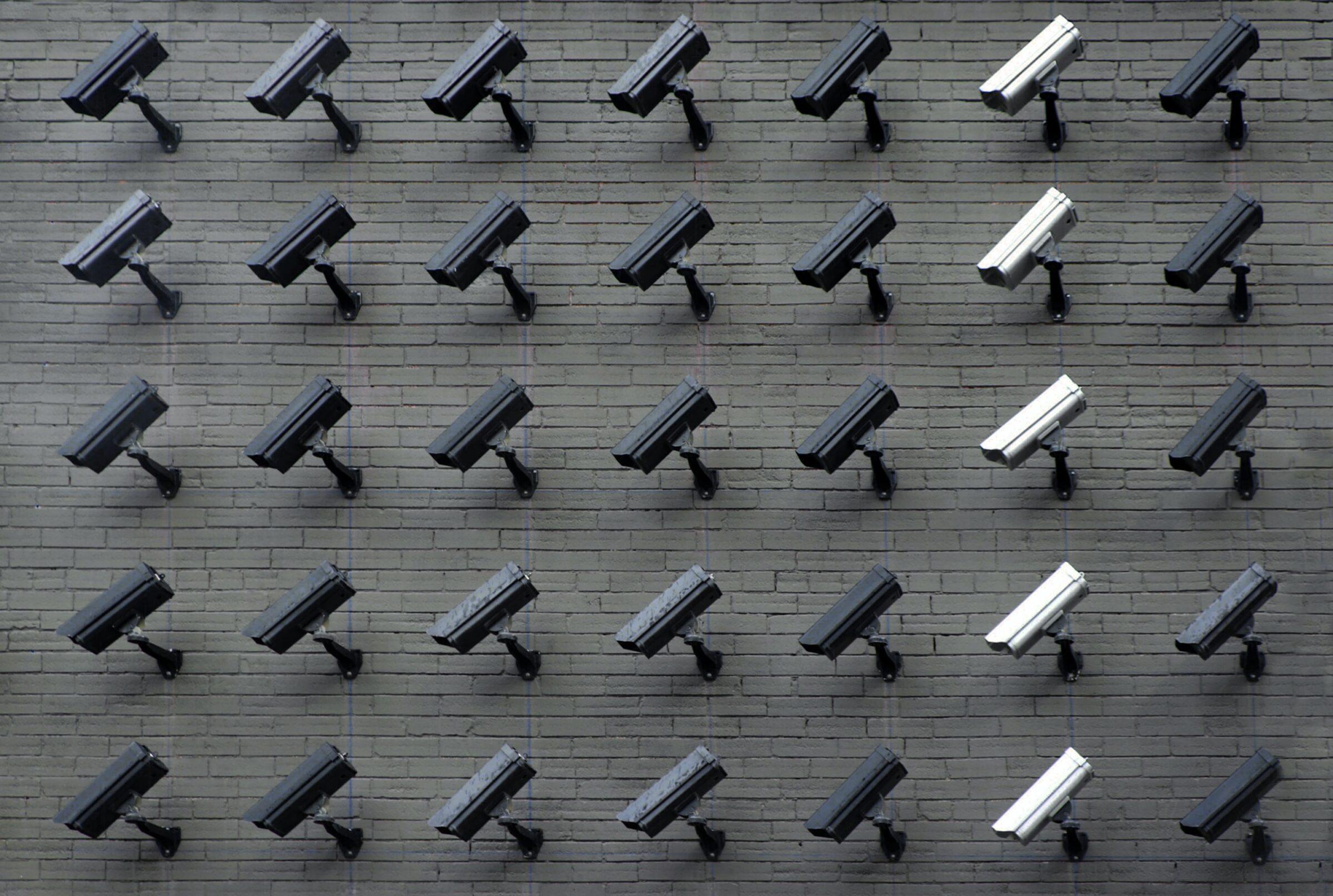 Privacy - camera's aan de muur